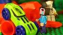 НУБ МАЙНКРАФТ против NERF ЧЕЛЛЕНДЖ - Лего Мультфильмы LEGO Minecraft Мультики НЁРФ ВОЙНА