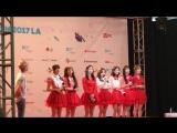 Fancam  170820  OH MY GIRL  KCON 2017 LA Hi-Touch Event