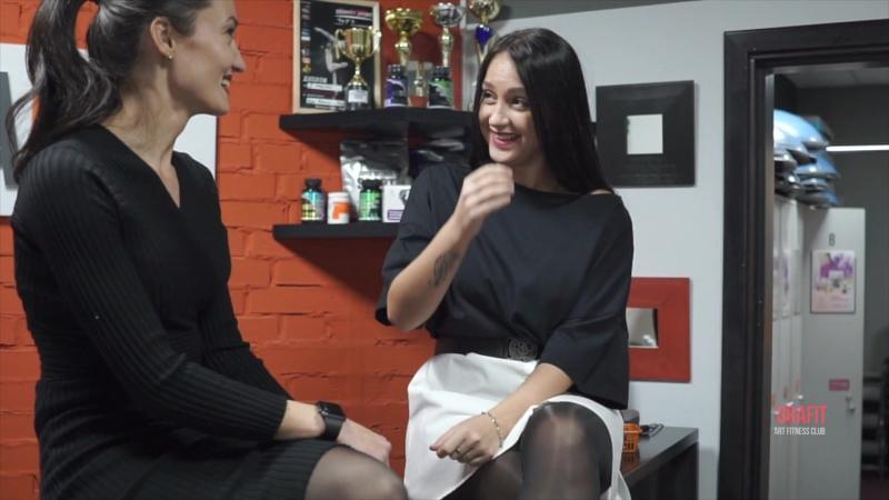 Салихова Лилия и Гречишникова Виктория