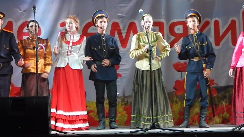 Ансамбль казачьей песни / «Бурку бери-бери, да шашку бери-бери.»/22.08.2017.