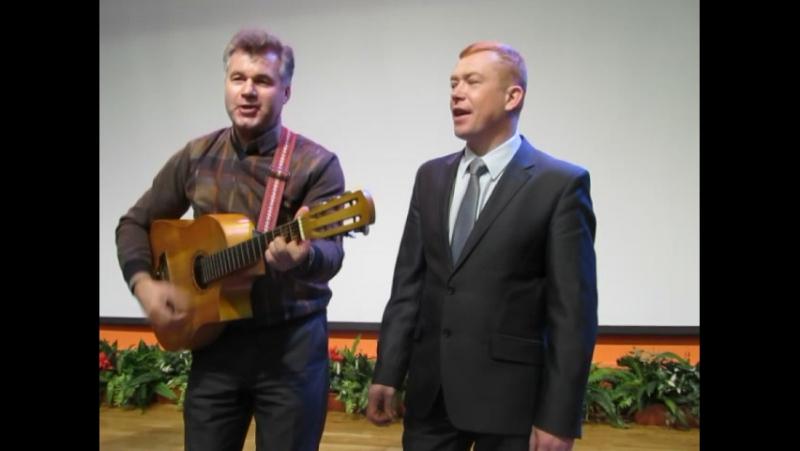 гимн студентов АГПИ(ПГУ),поют участники и члены жюри конкурса