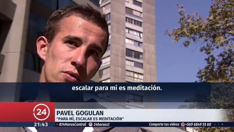 El verdadero hombre araña ya está en Chile