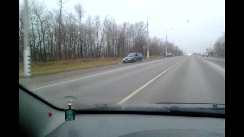 авария на Медведев лоб в лоб