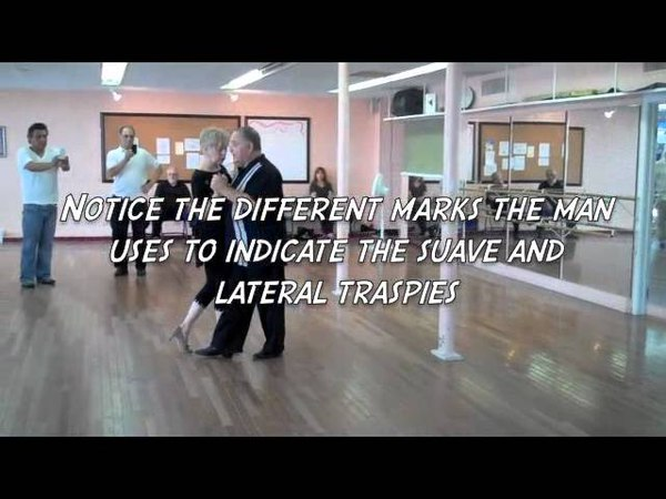 MILONGA TRASPIE WORKSHOP VIDEO NOTES