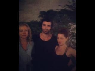 Naomi Battrick Ben Starr Niamh Walsh (Steven Waddington instagram) behind the scenes Jamestown (p5)