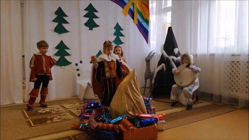 ДС № 80 Светлячок сказка Ёлка принцессы в таежном царстве