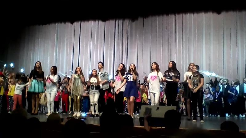 PLANKA MUSIC и Школа танцев PRO.Dviжение, заключительный номер Большой Отчётный концерт Школы танцев PRO.Dviжение 21 мая 201