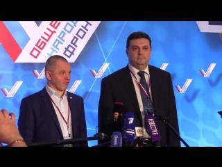 Пресс-подход: Алексей Анисимов и Владимир Соловьев