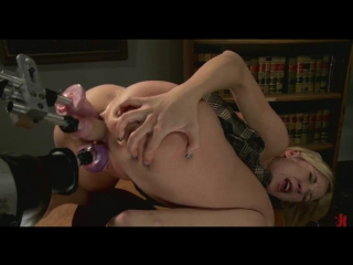 Amy brooke / solo, fuck machine, sex toys, triple penetration, double anal, squirt