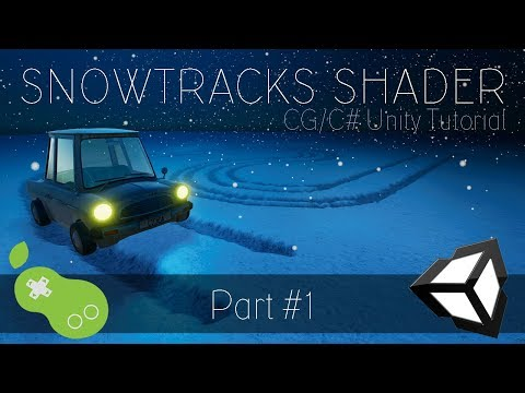 Snowtracks Shader - Unity CG/C Tutorial [Part 1 - Tesselation Theory]