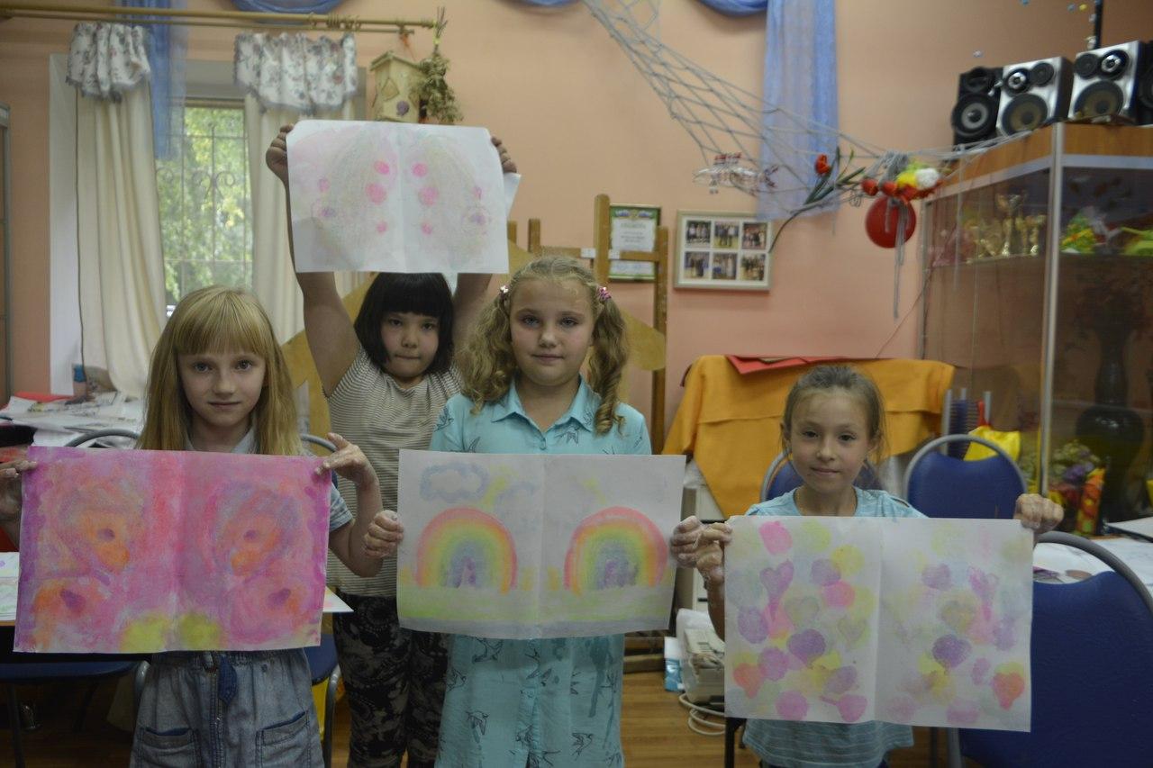 мастер-класс по рисованию мыльными пузырями