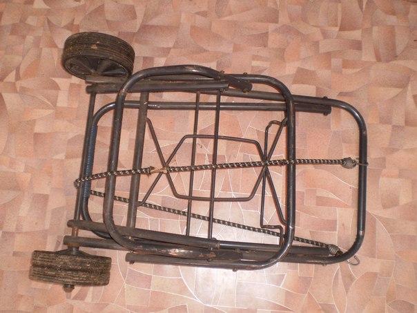 #Разное@bankakomi Дорожная тачка с 'двойными колесами' крепкая 350руб
