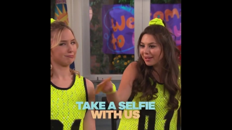 It's a selfie showdown! See if Phoebe Cherry can get the pic they need on Saturday's new Thundermans 🤳 kirakosarin audreyw