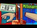 Играю в игру Безрукий милионер пытаюсь собрать все деньги