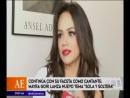 Continua con su faceta como cantante - Mayra Goñi lanza nuevo tema Sola y Soltera