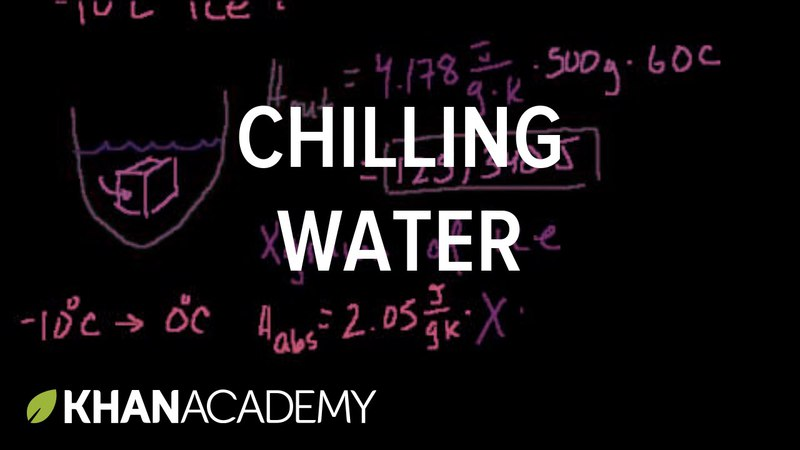Chilling water problem | States of matter and intermolecular forces | Chemistry | Khan Academy