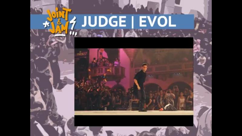 Main breaking pro 3x3 judges