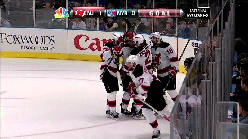 Ilya Kovalchuk Goal 5/16/12 Devils @ Rangers NHL Playoffs