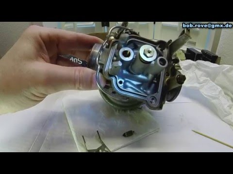 Rotax 912 BING 64 Vergaser Wartung Carb Overhaul and Inspection