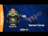 Tengri.sonic vs Spray'n'pray 4K