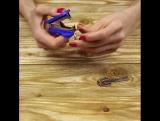 Как легко установить ключ на брелок. Это очень умно!
