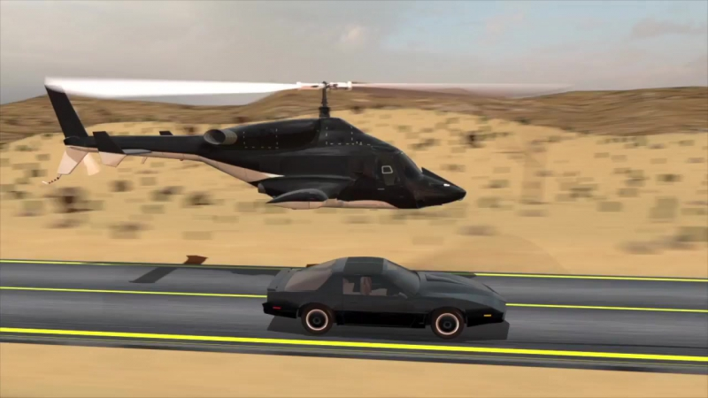 KNIGHT RIDER AIRWOLF - _ The Ride _ - fan video
