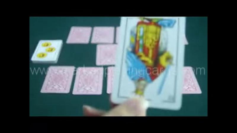 Spanish Fournier-крапленые карты-контактные линзы