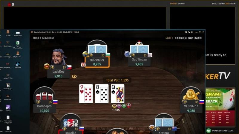 Barbarbarbaros Yayında! GG Network NL100 Texas Hold'em - Sekabet223.com