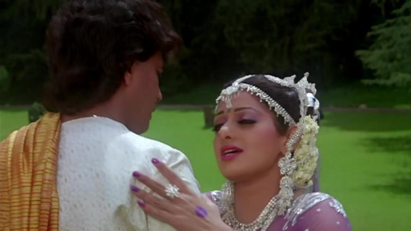 ♫Голос времени / Waqt Ki Awaz - Tu Bhi Bekaraar♫Шридеви и Митхун Чакраборти (Full HD 1080p)