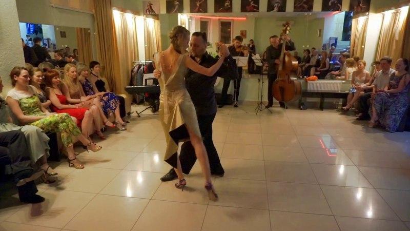 Алексей и Мария Рукавицыны и танго-оркестр Recuerdo