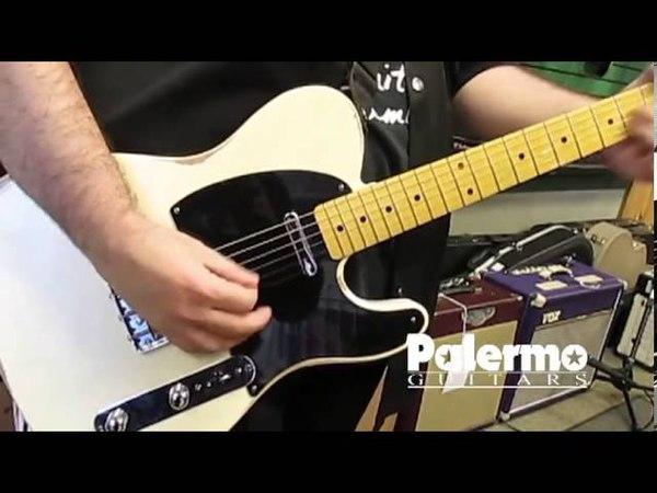 Palermo Aged PT-57 Maple Neck with Alder Body w/ Fender Custom Shop - Mike Palermo