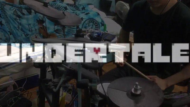 『Undertale』Megalovania【sans】【叩いてみた】【drum cover】【ドラム】エリヤ ElijahDRUM