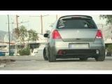 Properly Fitted Static Suzuki Swift on Volk Racing rims