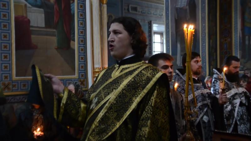 Прокимен Разделиша ризы Моя себе Кафедральный собор г. Кировограда