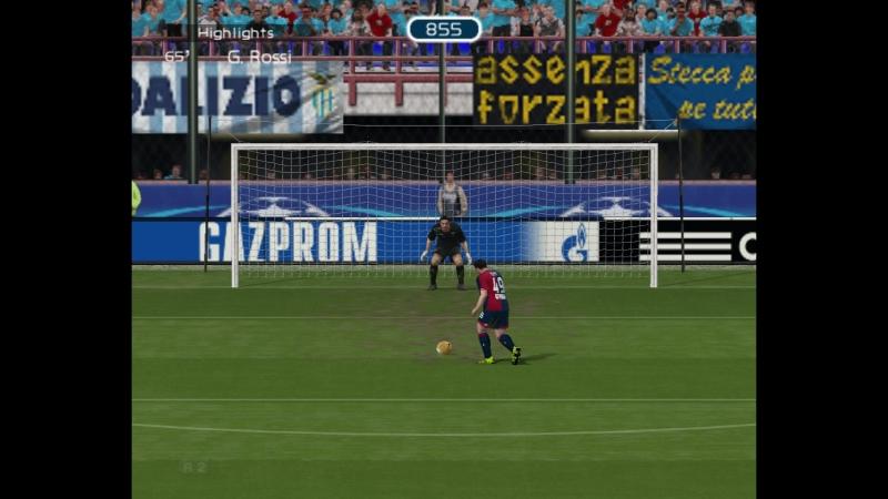 4 тур.Genoa CFC 8 - 1 Cagliari Calcio
