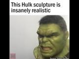 Hulk bust from