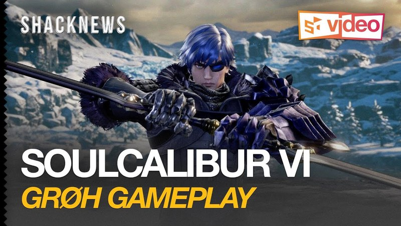 Soulcalibur 6: Groth Gameplay