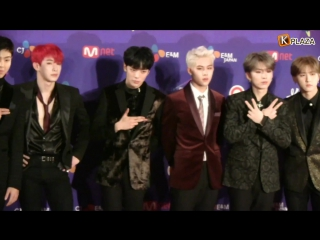 [VK][171205] MONSTA X Red Carpet  @ Mnet Asian Music Awards 2017 in Japan