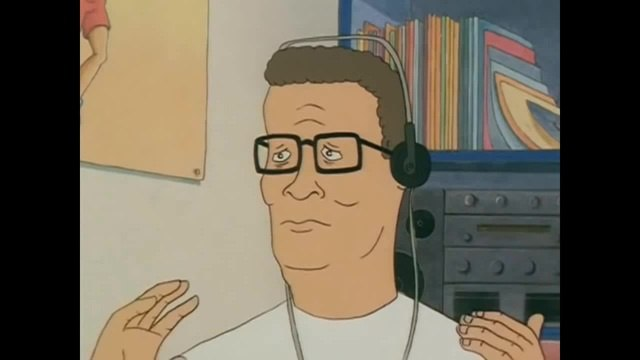 Hank Hill Listens to The End of Evangelion