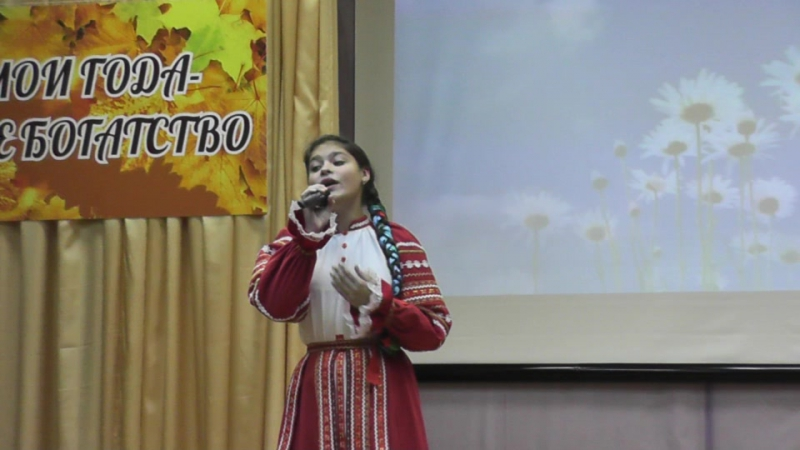 Наталья Курочкина на концерте в РКК. 29.09.2017г.