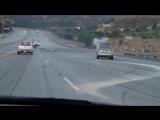 Цепная авария в в Санта-Кларите
