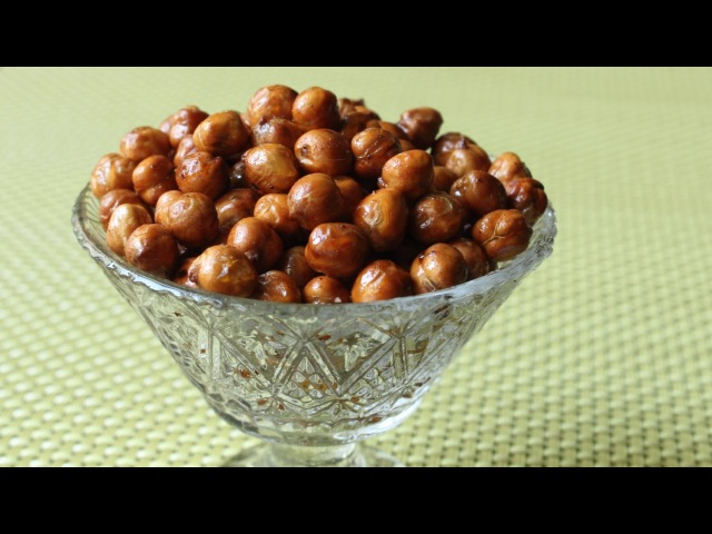 Crunchy Spiced Chickpeas - How to Make Crispy Oven-Fried Garbanzo Beans