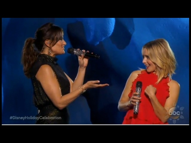 Idina Menzel Kristen Bell - When We're Together | Disney's Magical Holiday Celebration 2017