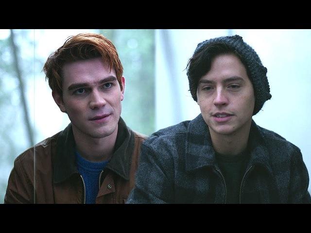Riverdale 2x14 Archie and Jughead bond