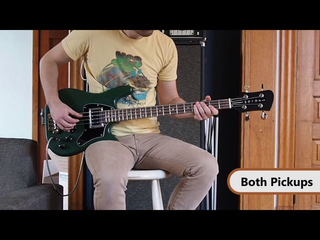 Serek Basses B90 Curtis Novak BS-DS Bass Pickup Demo