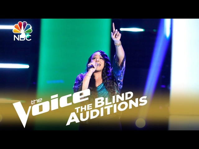 The Voice 2018 Blind Audition - Sharane Calister: Make It Rain
