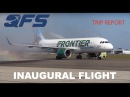 Обзор Airbus A320neo Frontier Airlines