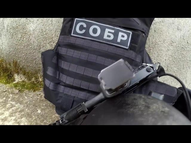 СОБР по Москве Тренировка со щитом SRRT in Moscow Training with a shield
