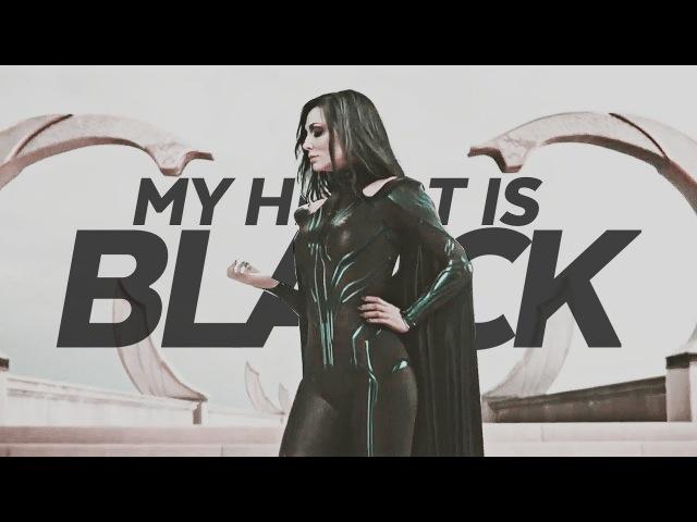 MY HEART IS BLACK. [HELA\THOR:RAGNAROK]