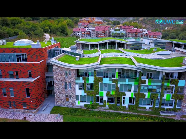 UWC Dilijan from the bird's-eye view